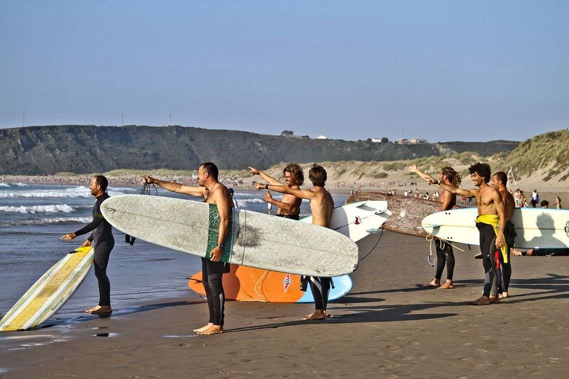 Long Board Festival. Playa de Salinas